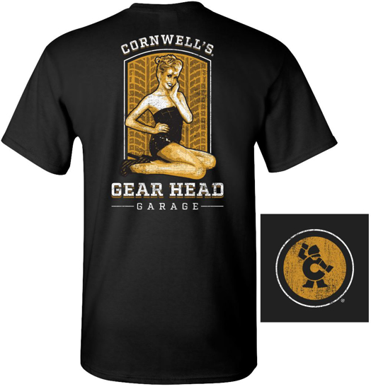 Picture of Gear Head Garage T-Shirt (CGGHGT)