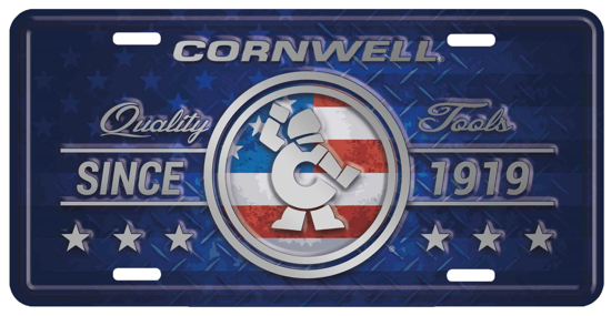 Picture of Deluxe License Plate (CGDLP)
