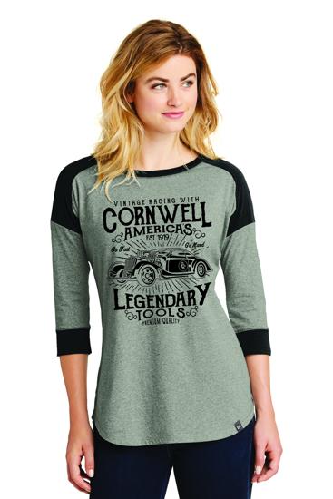 Picture of Ladies Legendary Raglan T-Shirt (CGLLDT)