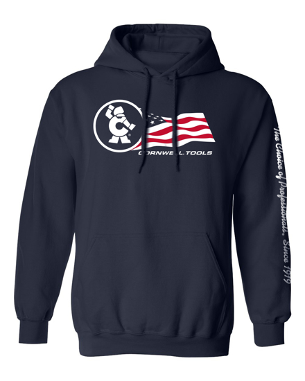 Picture of Trailing Flag Hoodie (CGNIFH)