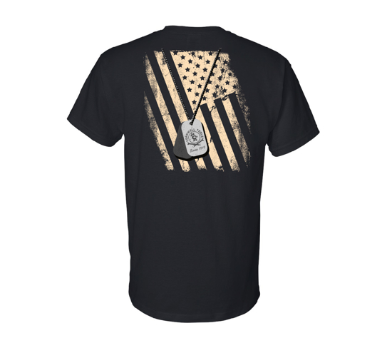 Picture of Dog Tag Flag Tee (CGDTFT)