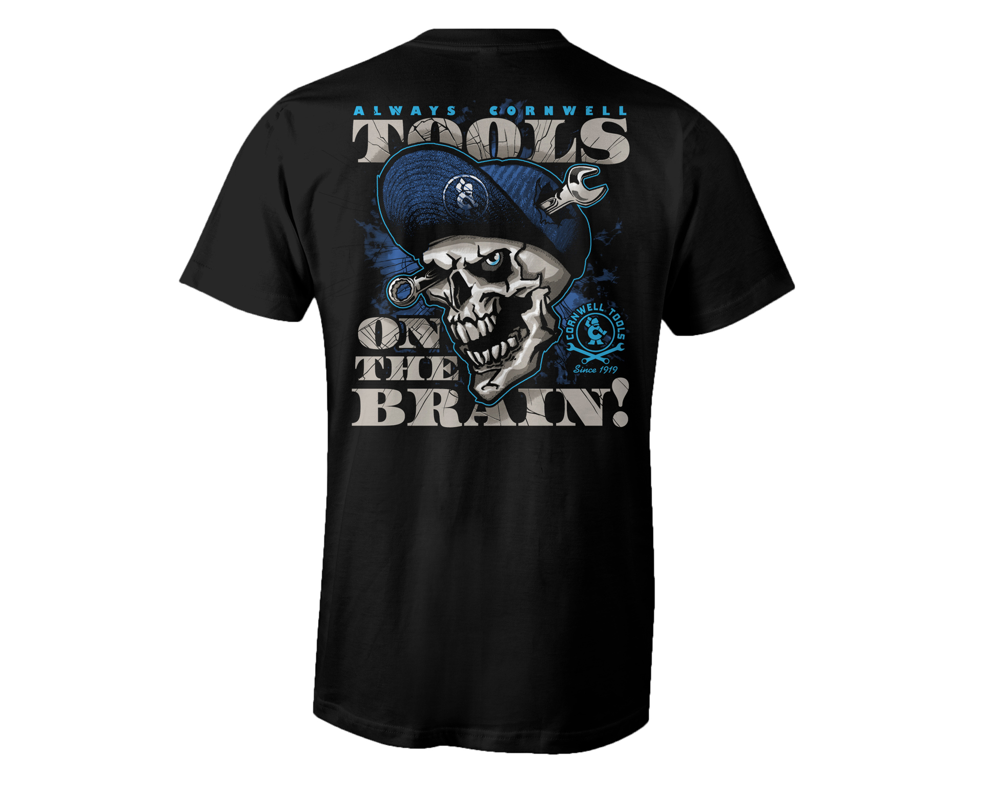 Picture of On the Brain Tee (CGOTBT)
