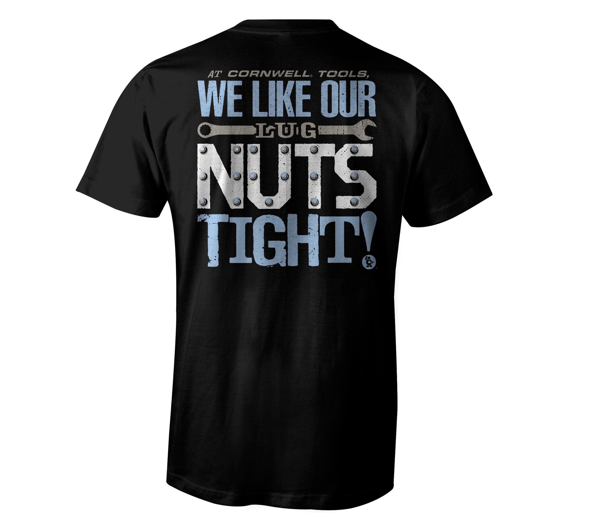 Picture of Lug Nuts Tight Tee (CGLNTT)
