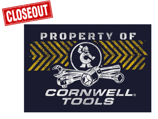 Picture of Property of Cornwell® Decal (CGDPO)