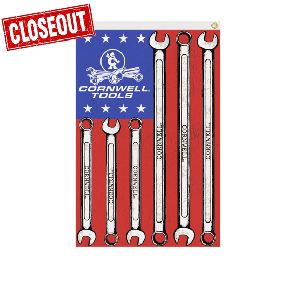 Picture of Wrench Flag 4' x 6' (CGWF46)
