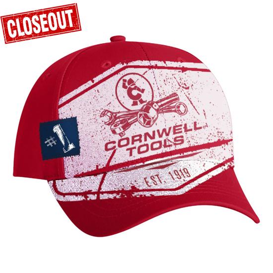 Picture of Red Screened Cap (CGREDSC)