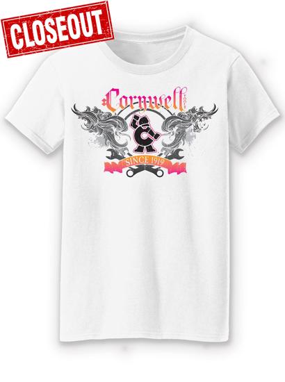 Picture of Ladies S/S White T-shirt (CGSSWHT)