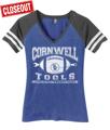 Picture of Ladies Cornwell Athletic Dept. Tshirt (CGLFJ)
