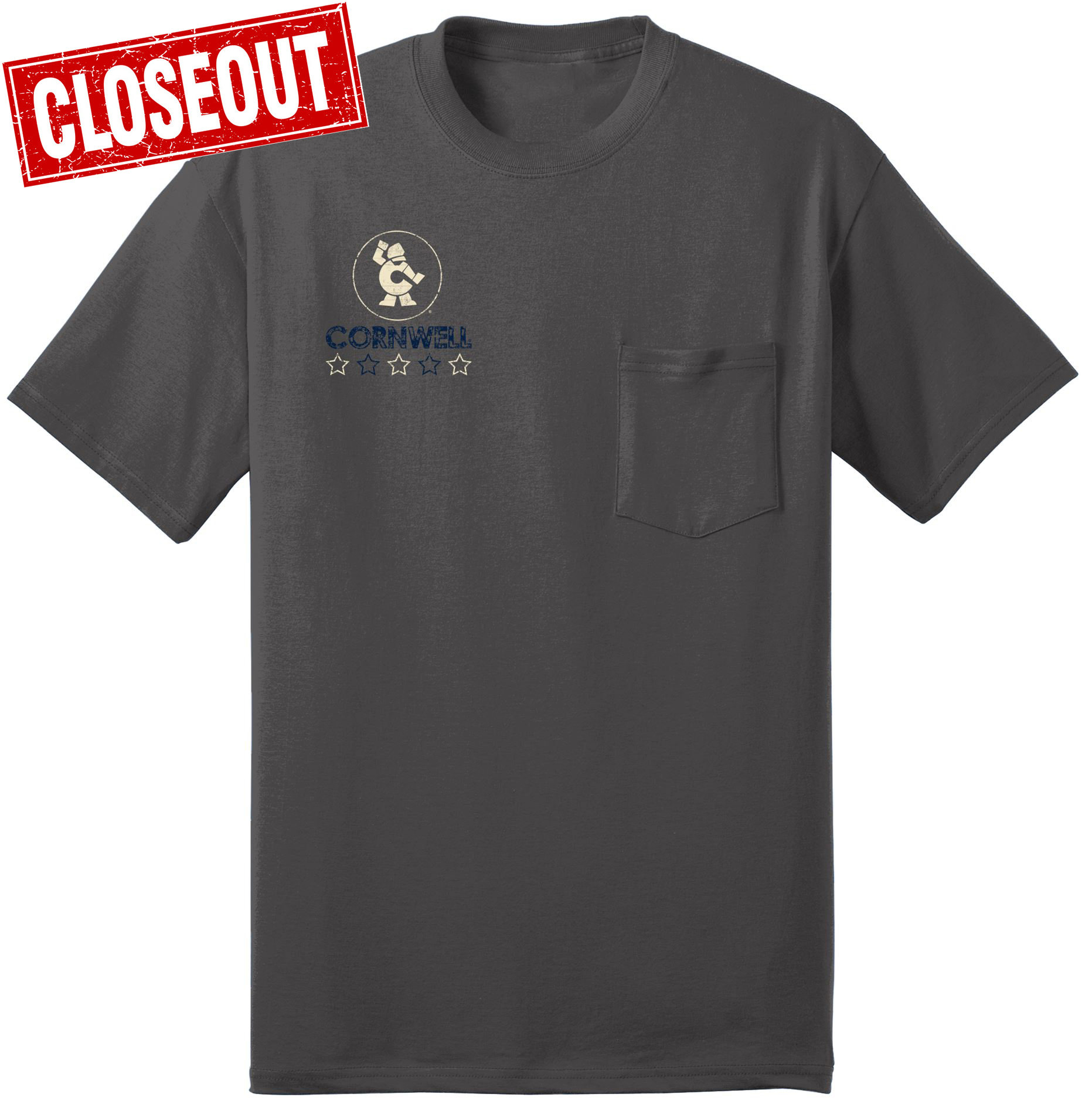 Picture of Flag Pocket T-shirt  (CGFPT)