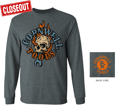 Picture of Flaming Skull Long Sleeve (CGLSFSW)