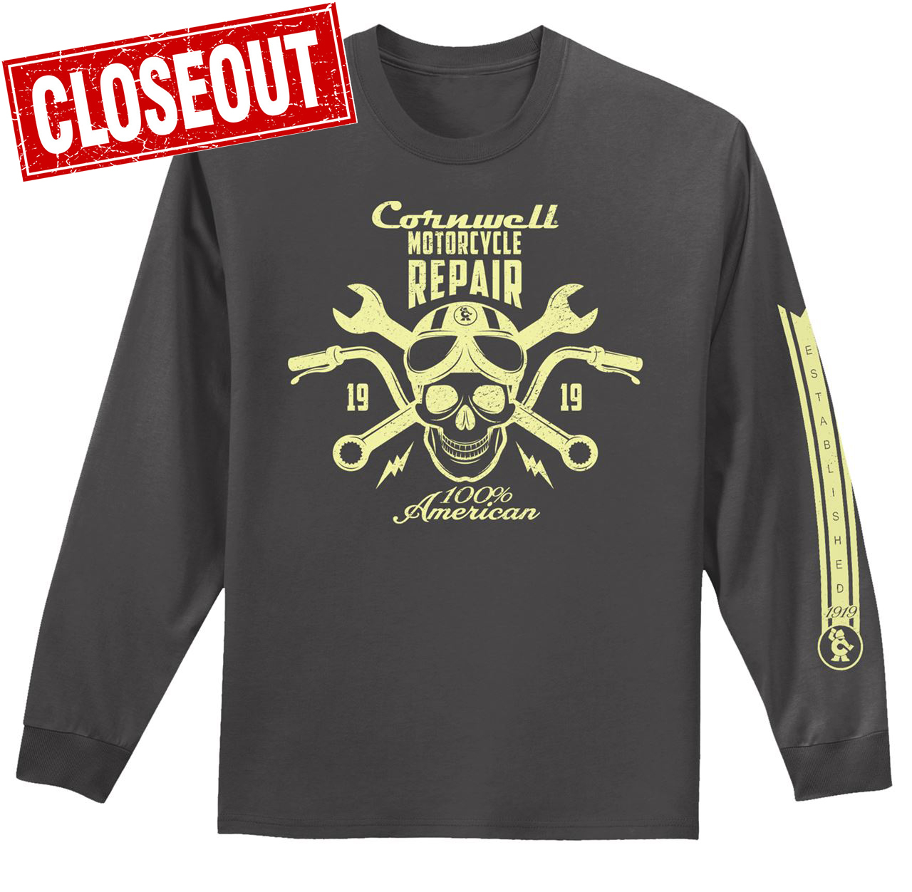 Picture of Motorcycle Repair Long Sleeve T-Shirt (CGLSMRT)
