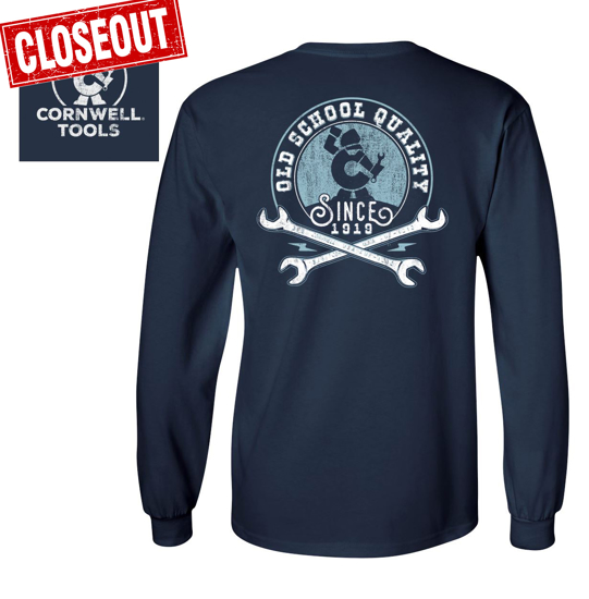 Picture of Old School Long Sleeve Pocket T-Shirt (CGOSLSN)