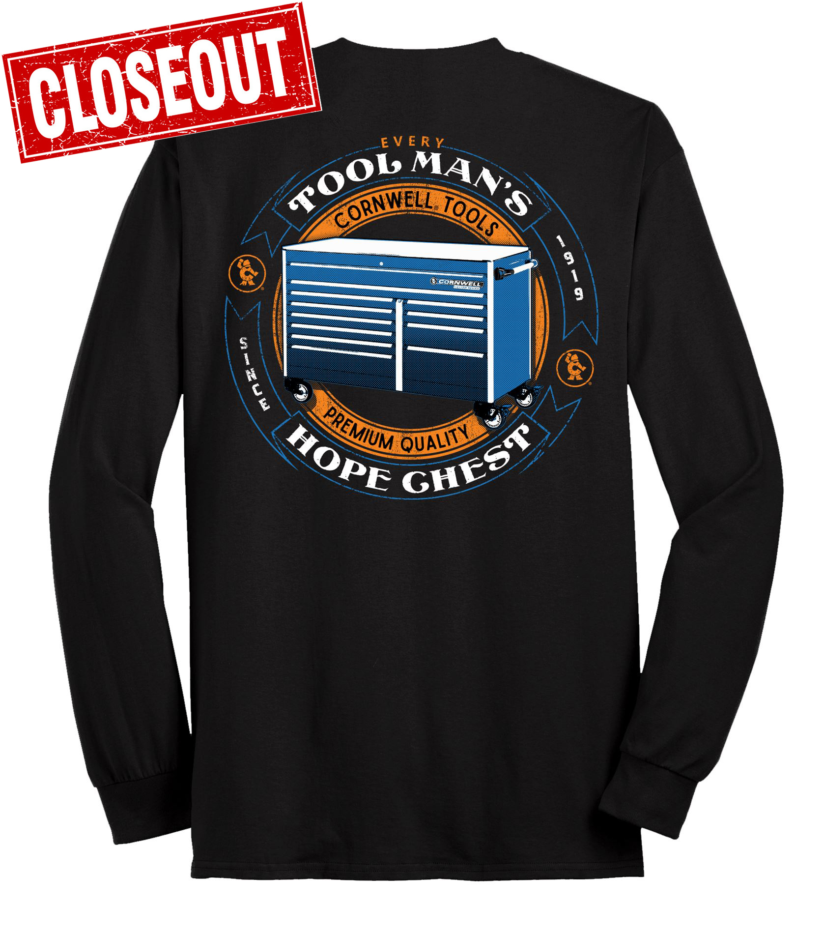 Picture of Hope Chest L/S T-shirt M-3XL (CGHOPE)