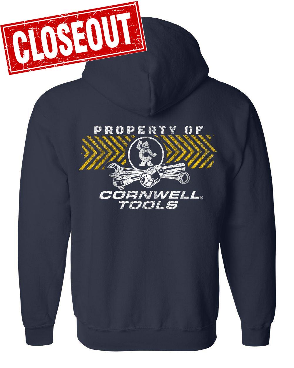 Picture of Property of Cornwell Full Zip Hoodie (CGPOCFZ)